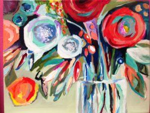 colorful-flower-bunches-in-a-vase-300x225