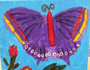 one-color-purple-butterfly-for-kids-300x234