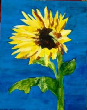 sunflower-mosaic-painting-237x300